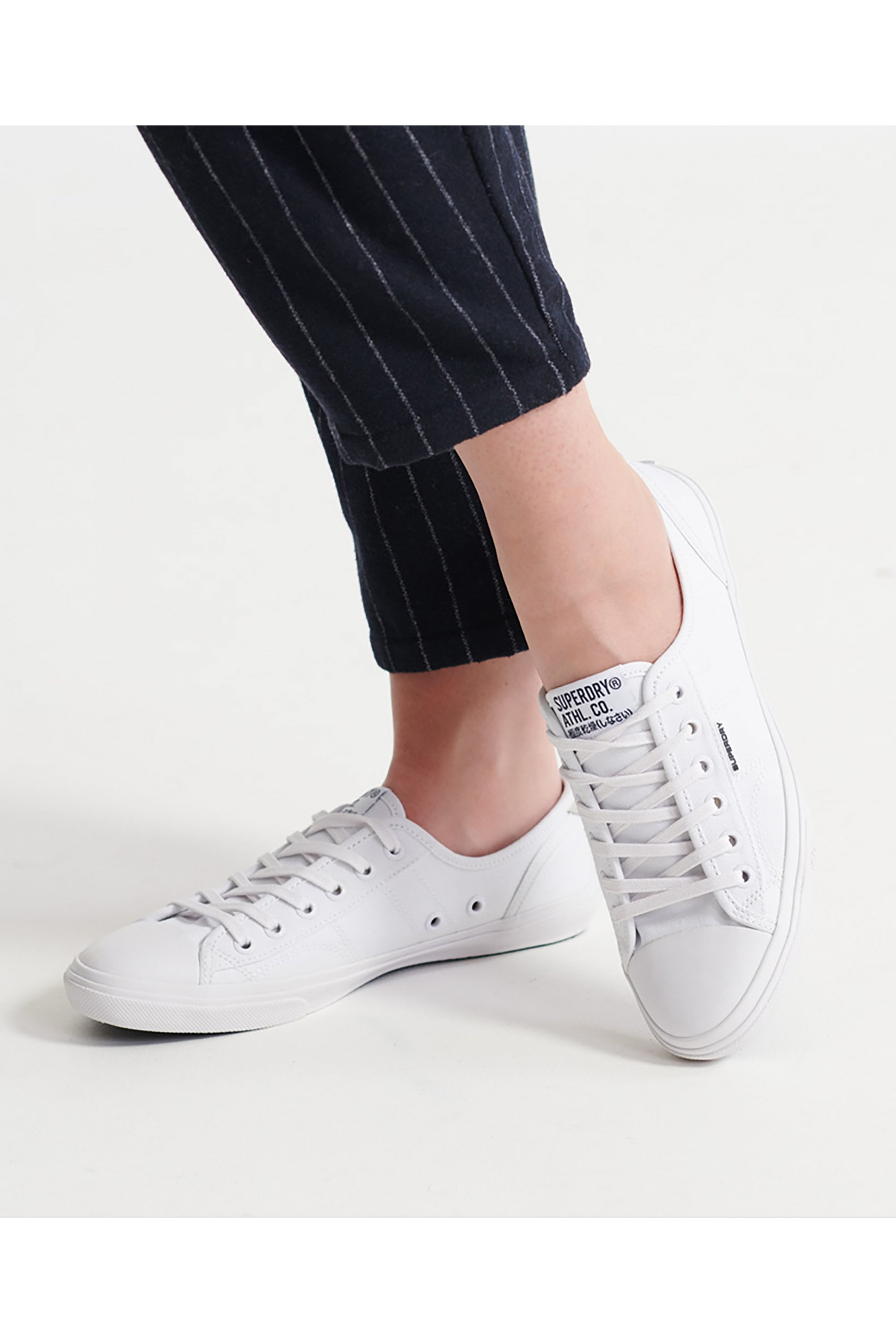 Superdry Low Pro Sneaker Optic White